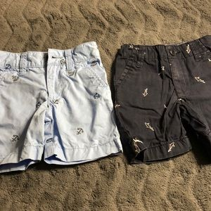 Set of 2- boys summer shorts